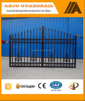 AJ-GATE006 Good quality House metal gate color design