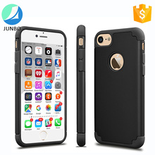 2 in 1 Hybrid Hard PC Soft Silicone Combo Case For iPhone 7 Plus Shockproof Phone Case