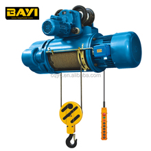 Hot Sale Monorail Travelling Construction Hoist Wire Rope Lifting Electric Hoist