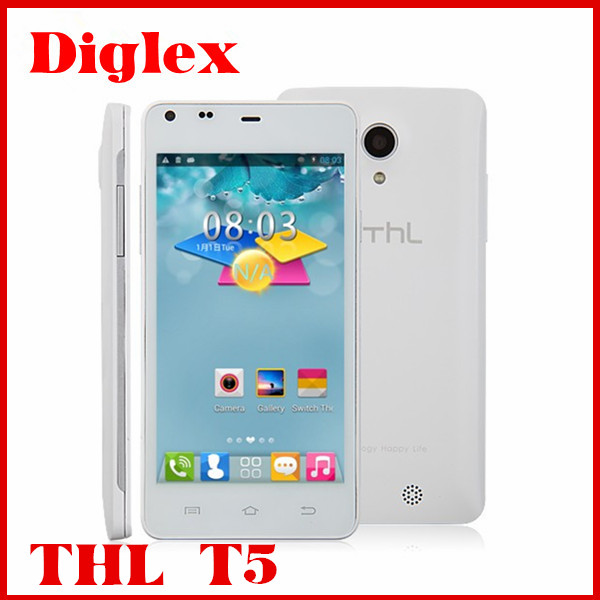 Excellent wholesale THL T5 android 4.2 mtk6572 dual core 4GB ROM 512MB RAM