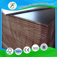 12mm 15mm 18mm poplar core film faced plywood at wholesale price