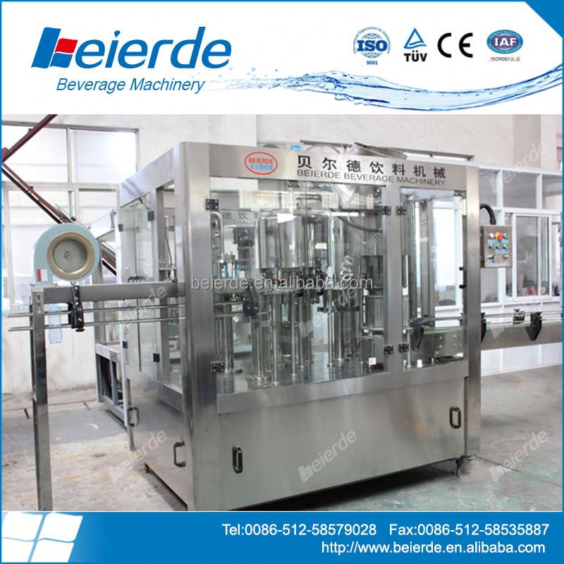 Perfect Price With Mineral Water Washing Filling Capping Machine In Beierde