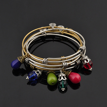 Jewelry Wholesale Expandable Charm Bangle Bracelet