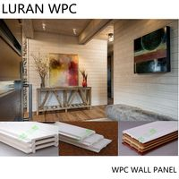 eco-friendly water proof wood plastic composite wpc wall panels decorative interior on sale