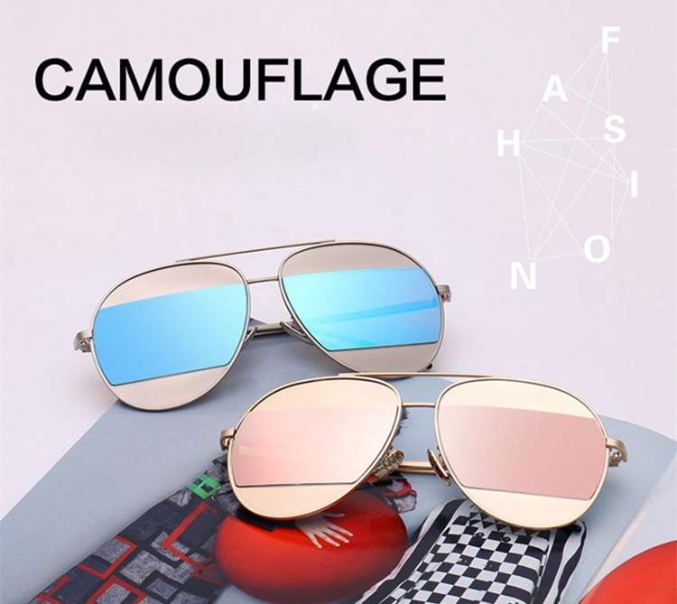 2016 New design Sunglasses UV400 men Female eyewear Women's shades outdoor,Fashion Sunglasses Women Driving Mirror eyewaer
