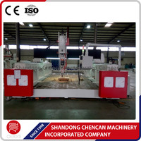 cnc Wood and Foam Molding cutting Machine from china agent price