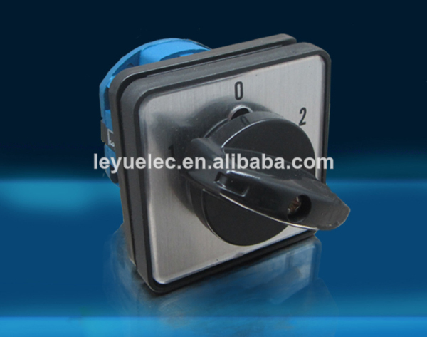 LW26 series 20A china wholesale market cam switch universal rotary switch 6P ON-OFF-ON
