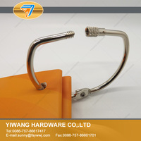 Factory direct sale high quality metal screw lock book binder ring