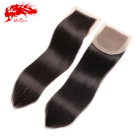 Most popular human hair dubai aliexpress hair brazilian silk base closure