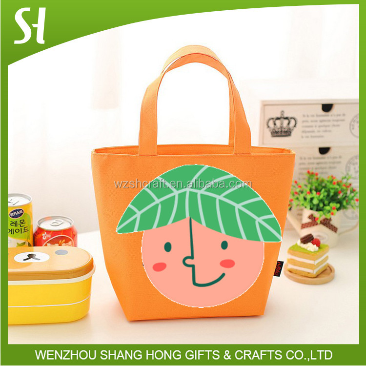 600d polyester canvas tote bag/fitness cooler lunch bag