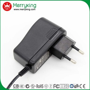 AC/DC 8.4W ac dc adapter 12v 700ma power supply with CB