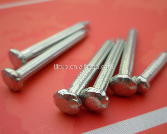 stainless steel galvanized nail sizes concrete nail supplier from Tianjin China