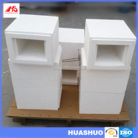 HS Uniform temperature dental lab zirconia sintering furnace chamber