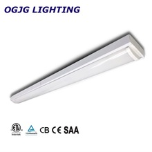 Commercial good heat dissipation linear batten fixture modern tube fitting recessed led canopy ceiling wrap light