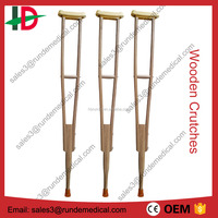 CE approved Wooden Walking Crutches (factory)