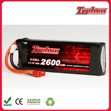 wholesale factory direct 11.1V 2600mAh 30C 3S LiPo Battery Pack for RC Car plane Helicopter