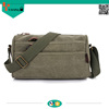 best selling new fashion wholesale girl canvas shoulder bag leisure messenger bag