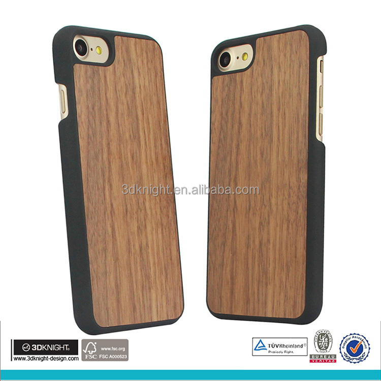 Walnut wood cell phone case for iphone case wood mobile cover