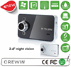 factory wholesale 2.7inch full hd GPS dual lens car camera recorder pro