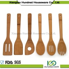 Anti-Bacteria Natural Wholesale Wooden Bamboo Kitchen Utensils