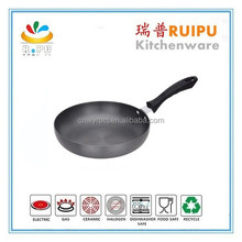 2015 hot top grade hard anodized air frying pan DW fry pan made in usa