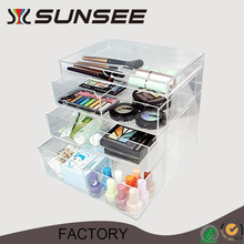 High quality acrylic makeup organizer cosmetic