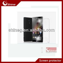 High clear sreen protector for Sony lt25i