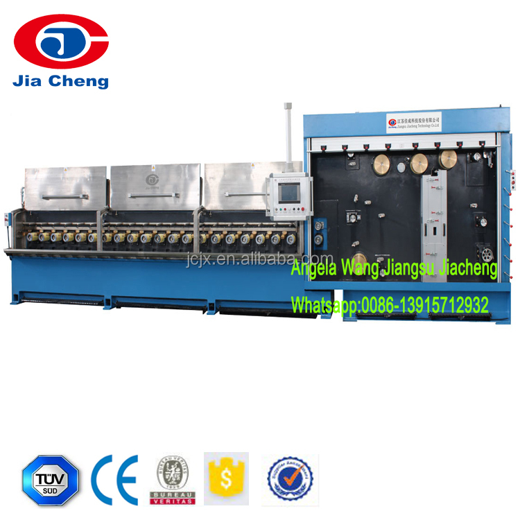 Multi Copper Wire Drawing Machine With Continuous Annealing,8 wire drawing,4 wire drawing