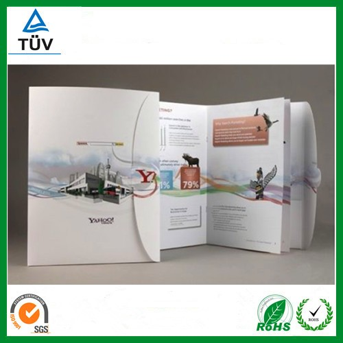 2018 custom catalogue,menu,flyer printing supplier in shenzhen