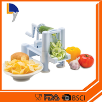 Made in china alibaba exporter popular manufacturer stainless steel spiral potato chips maker