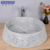 Customized new style fashionable simple round basin in bathroom