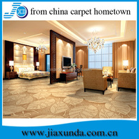 2014 New Design! Floral Pattern Wall to Wall Carpet
