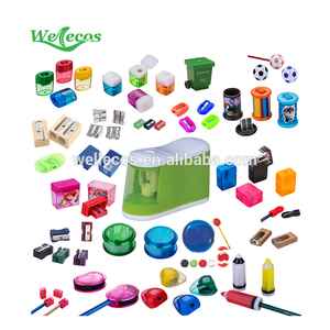School plastic unique children funny pencil sharpener for children study