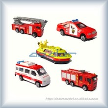 Model scale Fire engine /architecture model Fire engine with 1:50 /model cars