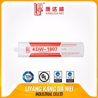 Silicone rubber adhesive sealant for electronics