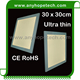 High density super warm white 300 300mm led panel light hoslight