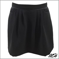 Special Design Special Dyed Black Skirt