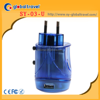 top selling multi travel electric plug adapter with usb charger