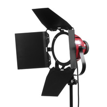 50W 5500K Red Head Light Dimmable Continuous Compact Photographic Lightings LED Studio Light