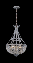 Contemporary Luxury Silver Chandelier Light