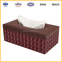 Factory price soft paper square custom printed facial tissue box for houseware or car