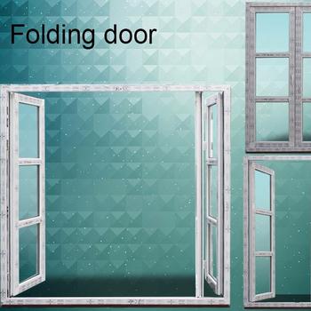 Folding doors with iron grill design, pvc interio folding door ...