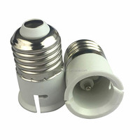 E27 TO B22 lamp bases LED light bulb Socket Conversion Screw Lamp Holder converter Flame Retardant Protection