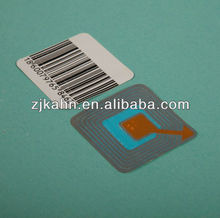 security (barcode) eas soft label