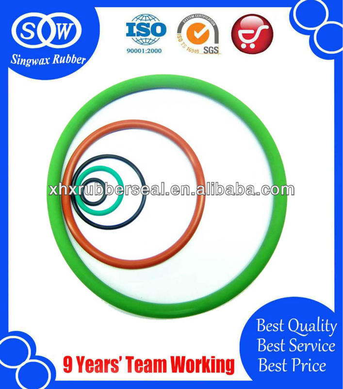 green NSF epdm o ring with 50 duro