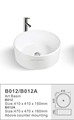 2016 Round counter top art wash basin B012 ,B012A