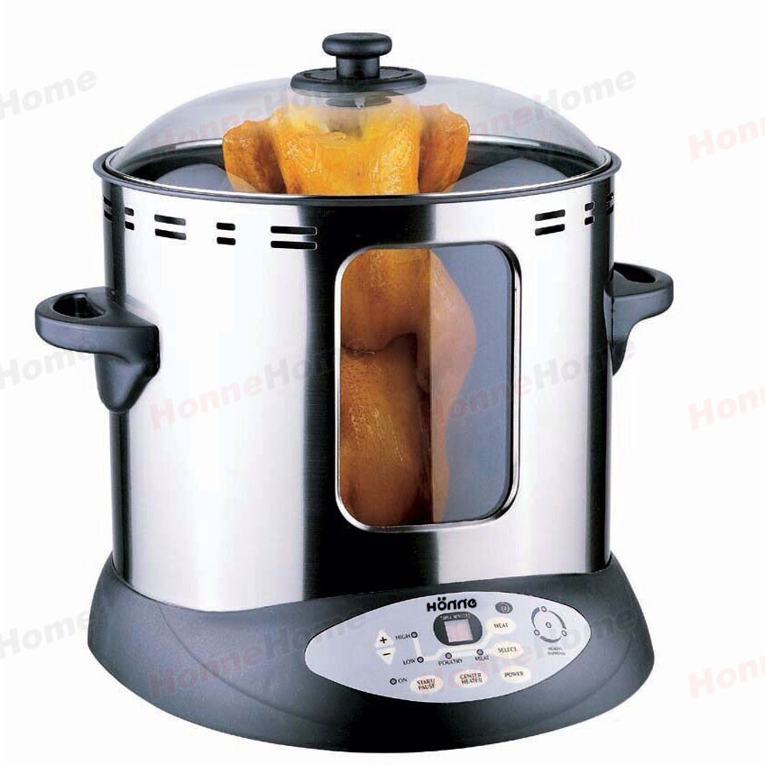 Industrial Electric Grill ~ Stainless steel commercial electric kebab machine vertical