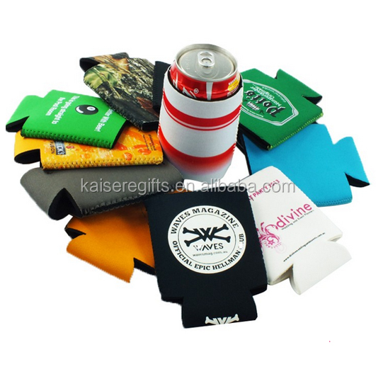 Reusable Durable Heat-transfer printing neoprene bottle bag