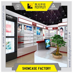 High end cosmetic display stands kiosk,display counter ,design furniture cosmetic shop