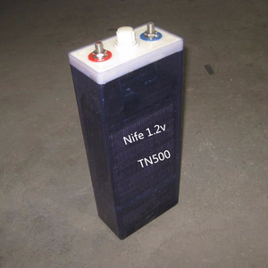 186*398*570mm Size and Low Rate Maintenance Type 1.2V 1200AH TN 200Ah Nickel Iron Batteries for Sale
